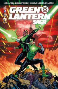 Green Lantern Saga T5, comics chez Urban Comics de Bedard, Tomasi, Milligan, Johns, Kirkham, Bernard, Mahnke, Pasarin, Benes, Aviña, Eltaeb, Sinclair, Eyring, Ruffino
