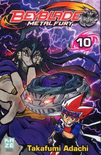 Beyblade T10, manga chez Kazé manga de Adachi