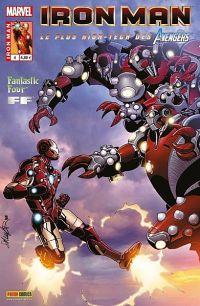 Iron Man (revue) – V 1, T4 : 27 minutes (0), comics chez Panini Comics de Fraction, Hickman, Dragotta, Kitson, Larroca, Bobillo, d' Armata, Mounts, Sotomayor, SotoColor