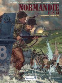 Normandie juin 44 T1 : Omaha Beach / Pointe du Hoc (0), bd chez Vagabondages de Félix, Djian, Paillou, Moreau