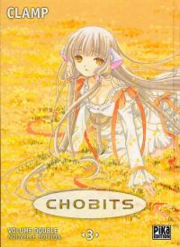Chobits – Edition double, T3, manga chez Pika de Clamp