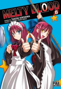 Melty blood T8, manga chez Pika de French bread, Type-moon, Kirishima