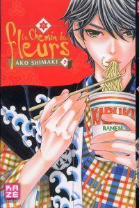 Le Chemin des fleurs T3, manga chez Kazé manga de Shimaki
