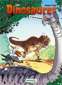 Les dinosaures T3, bd chez Bamboo de Plumeri, Bloz, Cosson