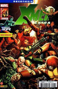 X-Men (revue) – Extra, T92 : La fin d'une génération (0), comics chez Panini Comics de Asmus, Gillen, Sanders, Roberson, Miyazawa, Green, Charalampidis, SotoColor