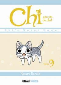 Chi - une vie de chat T9, manga chez Glénat de Konami