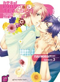 Private teacher T3, manga chez Taïfu comics de Moegi