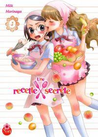 Une recette secrète T1, manga chez Taïfu comics de Morinaga