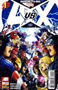 Avengers vs X-Men T1, comics chez Panini Comics de Aaron, Bendis, Romita Jr, Martin, Cheung, Coipel