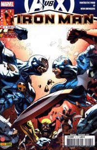 Iron Man (revue) – V 1, T5 : Un pas en avant (0), comics chez Panini Comics de Fraction, Hickman, Bendis, Deodato Jr, Epting, Larroca, Conrad, Dragotta, d' Armata, Beredo, Mounts, Sotomayor