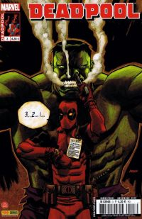 Deadpool (revue) – V 3, T3 : Opération annihilation (0), comics chez Panini Comics de Way, Barbieri, Dazo, Vella, Mossa, Filardi, Johnson