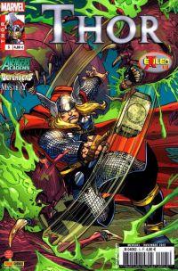 Thor T5 : En exil - Exiled (1/4), comics chez Panini Comics de Fraction, Gillen, Gage, Lanning, Abnett, Larraz, Di Giandomenico, Moline, Breitweiser, Breitweiser, Sotomayor, d' Armata, Troy, Simonson