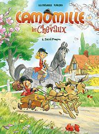 Camomille et les chevaux T2 : Sacré Pompon (0), bd chez Hugo BD de Mésange, Turconi, Lenoble