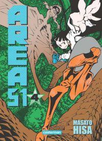 Area 51 T4, manga chez Casterman de Hisa
