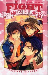 Fight girl T9, manga chez Delcourt de Tsubaki