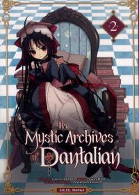 The mystic archives of Dantalian T2, manga chez Soleil de Mikumo, Yusuke (Green Wood), Abeno