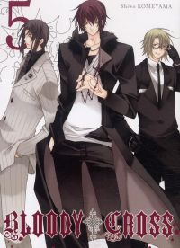 Bloody cross T5, manga chez Ki-oon de Komeyama