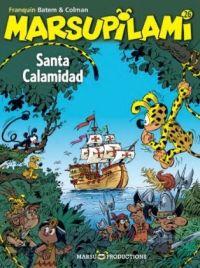 Marsupilami T26 : Santa calamidad, bd chez Marsu Productions de Colman, Batem, Cerise