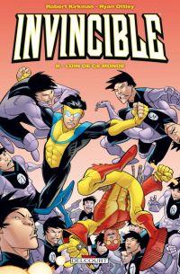Invincible T8 : Loin de ce monde (0), comics chez Delcourt de Kirkman, Ottley, Crabtree