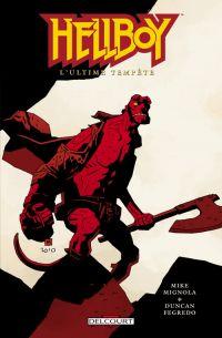 Hellboy T13 : L'ultime tempête (0), comics chez Delcourt de Mignola, Fegredo, Stewart
