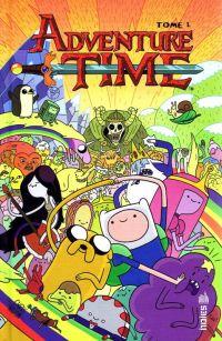 Adventure time T1, comics chez Urban Comics de North, Holmes, Gonzaga, Paroline, Lamb, Heller, Houghton