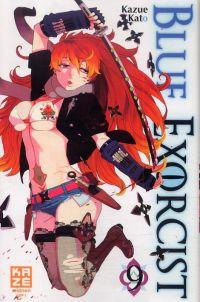 Blue exorcist T9, manga chez Kazé manga de Kato