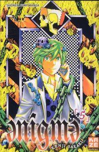 Enigma T5 : , manga chez Kazé manga de Sakaki