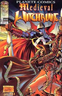 Planète Comics T1 : Medieval Witchblade (0), comics chez Semic de Ennis, Billy Tan Mung Khoy, Peterson, Wynn, Manson