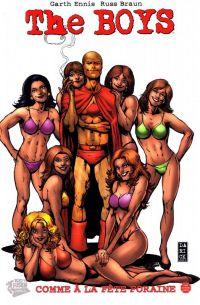 The Boys T16 : Comme à la fête foraine (0), comics chez Panini Comics de Ennis, Braun, Aviña, Robertson