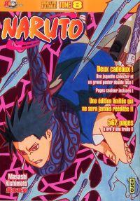 Naruto version collector T8, manga chez Kana de Kishimoto