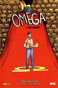 Omega l'inconnu, comics chez Panini Comics de Rusnak, Lethem, Dalrymple