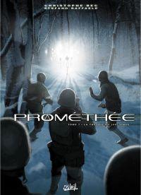 Prométhée – cycle 1, T7 : La théorie du 100ème singe (0), bd chez Soleil de Bec, Raffaele, Digikore studio, Springer