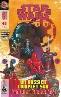 Star Wars (revue) T40 : , comics chez Delcourt de Schultz, Handley, Evanier, Amara, Macan, Aragones, Strom, Brunner, Herrera, Stewart, McCaig, Madsen, Dorman