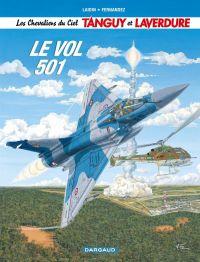 Tanguy et Laverdure T3 : Le vol 501 (0), bd chez Dargaud de Laidin, Fernandez, Alquier