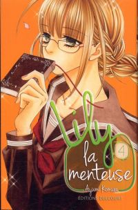 Lily la menteuse T4, manga chez Delcourt de Komura