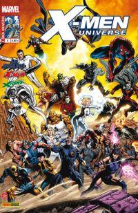 X-Men Universe T6 : Miroirs abandonnés (0), comics chez Panini Comics de Gischler, Lapham, Remender, Liu, Mckone, Walta, Conrad, De La Torre, Perkins, Loughridge, Guru efx, Peter, White, Ramos