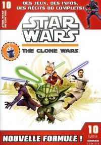 Star Wars (revue) – The clone wars, T10, comics chez Delcourt de Hoskin, Barr, Sniley, Roberts, Digikore studio