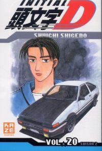 Initial D T20, manga chez Kazé manga de Shigeno