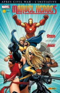 Marvel Heroes T1 : Alpha et Oméga (0), comics chez Panini Comics de Oeming, Slott, Bendis, Reed, Cheung, Cho, Caselli, Kolins, Rudoni, Reber, Keith, Morales