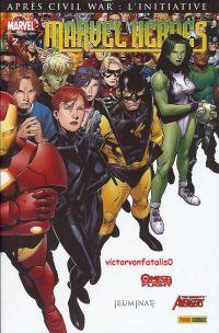 Marvel Heroes – Revue V 2, T2 : Héros en herbe (0), comics chez Panini Comics de Slott, Oeming, Reed, Bendis, Cho, Cheung, Caselli, Kolins, Ponsor, Keith, Rudoni, Reber, Morales