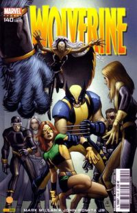 Wolverine (revue) T140 : Ennemi d'Etat (0), comics chez Panini Comics de Millar, Yoshida, Nagasawa, Romita Jr, Janson, Guru efx, Mounts