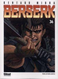 Berserk T36, manga chez Glénat de Miura