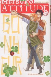Mitsuko attitude T5, manga chez Delcourt de Kurihara