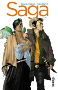 Saga T1, comics chez Urban Comics de Vaughan, Staples