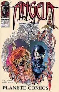 Planète Comics – Revue V 2, T2 : Angela (0), comics chez Semic de Gaiman, Capullo, Olyoptics, Broeker, Oliff