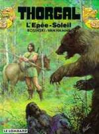 Thorgal T18 : L'épée-soleil (0), bd chez Le Lombard de Van Hamme, Rosinski, Graza