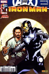 Iron Man (revue) T7 : Longue est la route (0), comics chez Panini Comics de Bendis, Fraction, Hickman, Deodato Jr, Garney, Larroca, Dragotta, Keith, Sotomayor, d' Armata