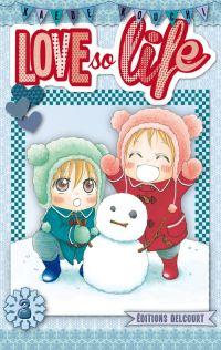 Love so life T3, manga chez Delcourt de Kouchi