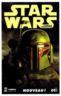 Star Wars (revue) – Comics Magazine, T1, comics chez Delcourt de Whedon, Taylor, Ostrander, Eliopolous, Dery, Fabbri, Sommaravia, Dalla vecchia, Duursema, Scalf, Pattison, Moore