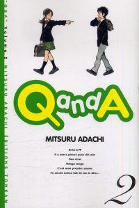 Q and A T2, manga chez Tonkam de Adachi